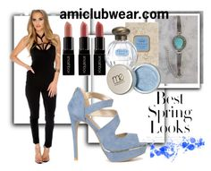 """""""AMI 18"""" by sanja90 ❤ liked on Polyvore featuring Smashbox and H&M"""