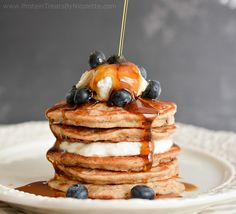 Protein Treats By Nicolette : Oatmeal Raisin Cookie Protein Pancakes