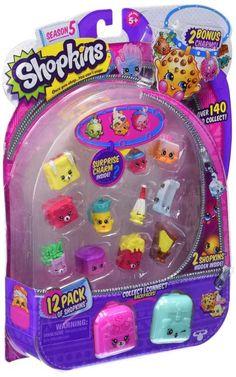 Shopkins Season 5, 12-Pack Playset new FREE SHIPPING #Shopkins