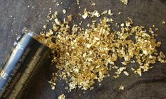Gold Dust for table decor