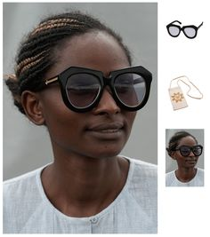 """d630adc5e4 vmagazine  """"Karen Walker is the latest brand to team up with the UN s  International Trade Centre s (ITC) Ethical Fashion Initiative. Her new  eyewear ..."""
