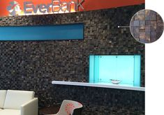 EverBank Financial Center in Clearwater, FL by Little Diversified Architectural Consulting featuring Fusion Wood Panels Creative Office Space, Corporate Interiors, Sense Of Place, Hospitality Design, Door Design, Wood Paneling, Pavilion, Workplace, Spaces