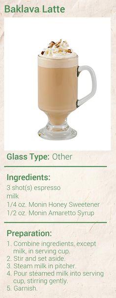 Baklava Latte