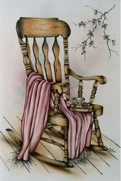 Yes, I'm pinning for the title... Pattern Packets - Lynn's Rocking Chair by Mary Owens