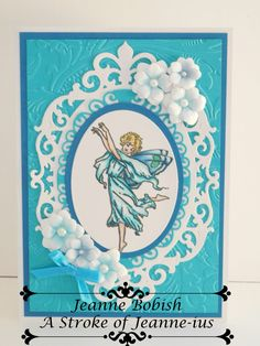 free fairy gift from UK paper craft mag
