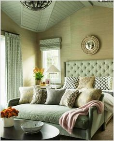 superb diy headboard ideas for your chic bedroom diy hea Diy Headboards, Headboard Ideas, Make Your Own Headboard, Diy Home Decor Bedroom, Bedroom Ideas, Bedroom Inspo, Bedroom Green, Beautiful Bedrooms, Serene Bedroom
