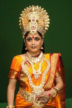 Ramya Krishnan Photos - Ramya Krishnan from the movie 'Sri Vasavi Kanyaka Parameshwari' Beautiful Girl Indian, Most Beautiful Indian Actress, Ramya Krishnan, Amrita Rao, Bridesmaid Saree, Indian Wedding Bride, Third Gender, Indian Goddess, South Actress