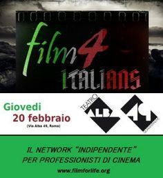 Film 4 Italians: network per il cinema indipendente - Film4Life - Recensioni film, promozione del talento e curiosita sul cinema