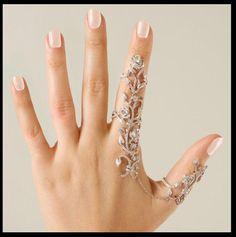 Sparkly Multi Finger Ring. Starting at $4