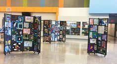 Art Display Idea For Educators | Screenflex Portable Room Dividers