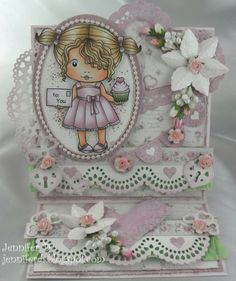 La-La Land Crafts Inspiration and Tutorial Blog: Inspirational Monday - Hearts and Lace