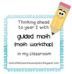 Lipstick, Lattes, and Lesson Plans: math workshop