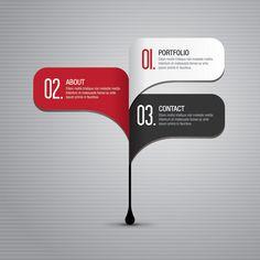 32 Free Vector Infographic Designing Elements #vectorelements