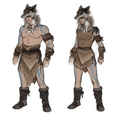 A small sampling of the large volume of armor and clothing designs I produced over the course of years of Conan Exiles development. The focus throughout production was to quickly create appealing designs with a degree of stylization, with strong Character Concept, Character Art, Concept Art, Character Sheet, The Elder Scrolls, Conan Exiles, Mandalorian Cosplay, Tribal Warrior, Ghost In The Shell