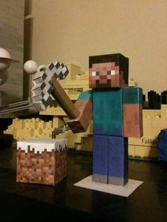 Minecraft : Papercraft