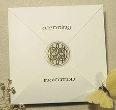 Celtic Star Wedding Invitation from CelebrationsPlus.com