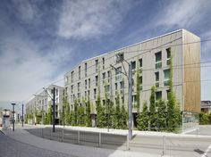 Stadthaus M1 / Barkow Leidinger Energy-Efficiency-House in Freiburg.