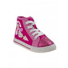 Nickelodeon Big Girls Pink Paw-Patrol Canvas Sneakers Comfortable Sneakers, Canvas Sneakers, Paw Patrol, Pink Girl, High Tops, High Top Sneakers, Big, Girls, Shoes