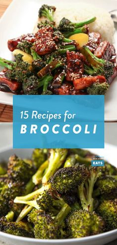 15 Broccoli Recipes to Get You Beyond Steamed Best Broccoli Recipe, Broccoli Recipes, Veggie Recipes, Vegetarian Recipes, Healthy Recipes, Mint Recipes, Honey Recipes, Broccoli Dishes, Broccoli Cauliflower