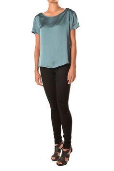 Short Sleeve Top Black Jeans, Sleeves, Pants, Fashion Design, Collection, Tops, Trouser Pants, Black Denim Jeans, Women's Pants