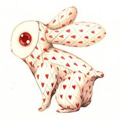 bunnicula? is that you? who tattooed hearts all over you?