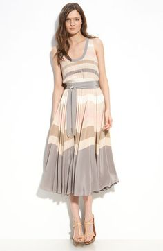 MARC BY MARC JACOBS 'Simone' Stripe Silk Dress - please be in my closet when I get home! $628.00