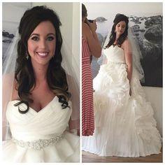 great vancouver wedding Today's glamorous bride rockin' that killer gown. Makeup & hair by lead stylist Leah. #alldolledupteam #alldolledupmakeupandhair #makeupartist #hairstylist #mobilebeautyteam #weddingday #luxurybridal #weddings #bridetobe #weddingdress #mobilemakeup by @alldolledupstudio  #vancouverwedding #vancouverweddingdress #vancouverweddingmakeup #vancouverwedding