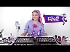 Twilight Sparkle - Tutorial de Maquillaje - Equestria Girls (Español) - YouTube