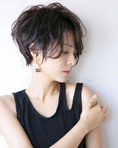 Pin on 髪型 Messy Short Hair, Really Short Hair, Short Hair Cuts, Short Hair Styles, Latest Short Haircuts, Cute Short Haircuts, Short Hairstyles For Women, Tomboy Hairstyles, Hairstyles Haircuts