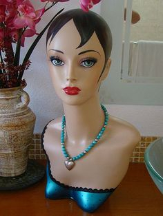 repainted mannequin head | Flickr - Photo Sharing!