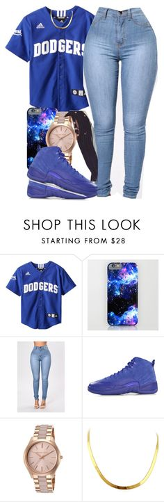 """""""Untitled #567"""" by tayloryvonne1 ❤ liked on Polyvore featuring NIKE and Michael Kors"""