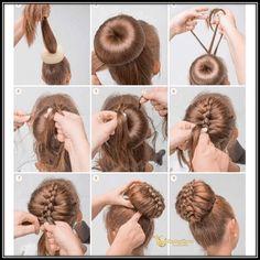 Bun hairstyles are convenient for bad hair days and good hair days, Bun hairstyl. - Bun hairstyles are convenient for bad hair days and good hair days, Bun hairstyles are convenient f - Dance Hairstyles, Braided Hairstyles, Trendy Hairstyles, Hairdos, Wedding Hairstyles, Gymnastics Hairstyles, Donut Bun Hairstyles, Amazing Hairstyles, Step By Step Hairstyles