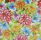 Adalees Garden~Summer Flowers by Red Rooster Cotton Fabric By The Yard