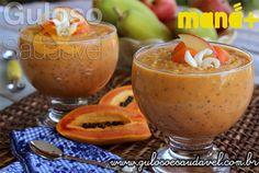 Receitas com Frutas em Parceria com a Maná