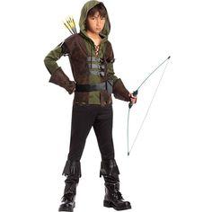 Boys Rugged Robin Hood Costume