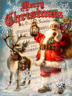 1517 - Santa Vintage Postcard.jpg | Gelsinger Licensing Group