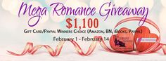 MULTI-AUTHOR & BLOGGER NEWSLETTER GIVEAWAY! GIVEAWAY ENDS FEB. 14TH WINNER PICKED ON FEB. 17TH Enter the $1,100 Gift Card (Amazon, iTunes, B&N or Paypal) Newsletter Giveaway! TERMS AND COND…