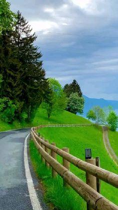 Beautiful Roads, Beautiful Photos Of Nature, Beautiful Nature Wallpaper, Beautiful Places To Travel, Nature Pictures, Amazing Nature, Wonderful Places, Beautiful Landscapes, Aesthetic Photography Nature