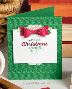 Handmade for the Holidays made with the Wrapped in Warmth stamp set: Stampin'…