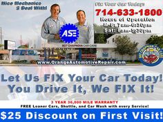 oil change coupons irvine ca