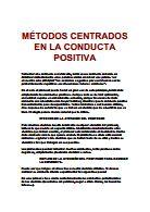 metodos centrados en conducta positiva.doc