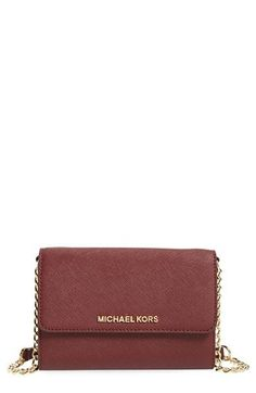 6b588b2424 MICHAEL Michael Kors Jet Set - Large Phone Saffiano Leather Crossbody Bag  available at  Nordstrom. Γυναικείες Τσάντες ...