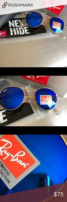 d102feb0c9 Brand New RAY-BAN RB3447 ROUND METAL RAY-BAN RB3447 ROUND METAL Ray-Ban  Accessories Sunglasses