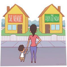 Comprar o arrendar... ese es el dilema - ¿Está sobrevalorado el sueño de la casa propia? Ve cómo se vive en otros países - El Definido