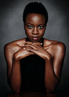Danai Gurira photographed by Richard Phibbs for Entertainment Weekly 2016