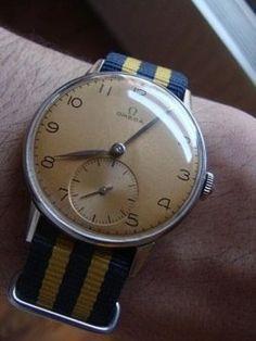 Vintage Rolex on a Nato strap