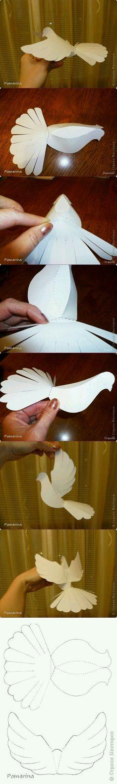 Paper bird...