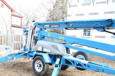 Genie lifts, for their uncanny ability to tackle a week's worth of projects in a day.
