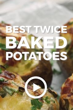 Best Twice Baked Potatoes Twice Baked Potatoes by The Cookie Rookie. This easy loaded baked potatoes recipe is going to. Double Baked Potatoes, Best Twice Baked Potatoes, Cooking Baked Potatoes, Best Baked Potato, Potatoes In Oven, Baked Potato Oven, Baked Potato Recipes, Loaded Baked Potatoes, Potatoes Crockpot