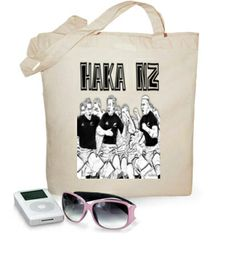Bolso HAKA NZ #camisetas #rugby #allblacks http://www.latostadora.com/emcmasquecamisetas
